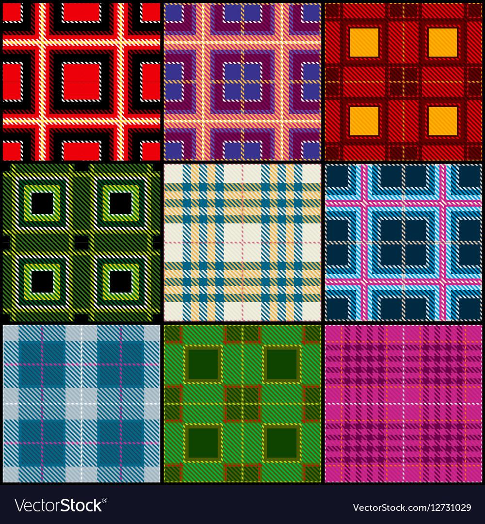 Classic tartan british traditional stripe plaid