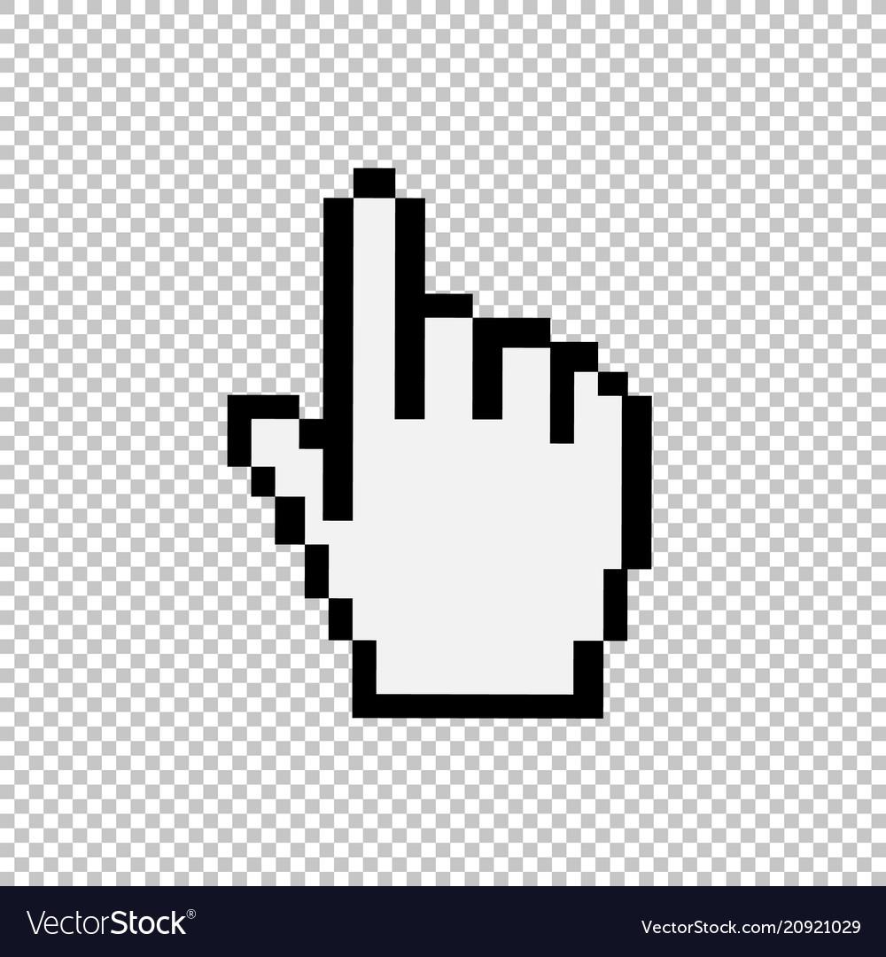 Mouse hand cursor