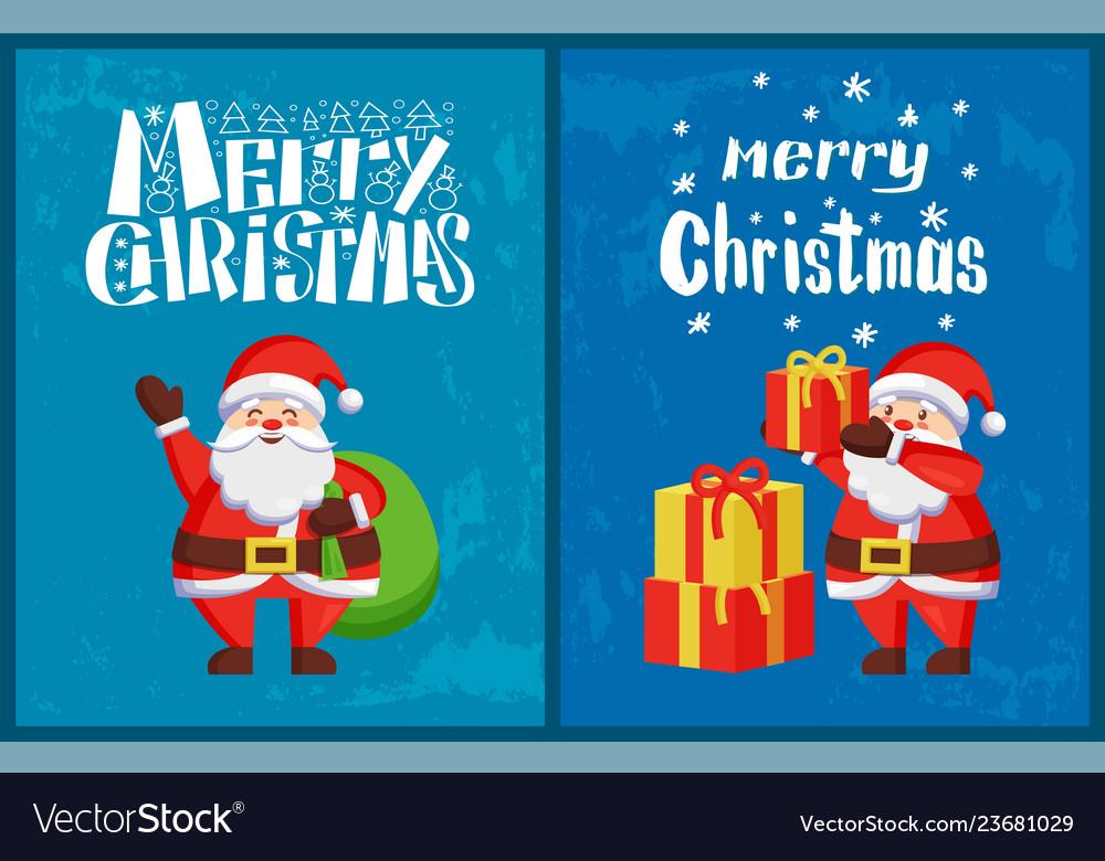 Santa claus winter holidays adventures