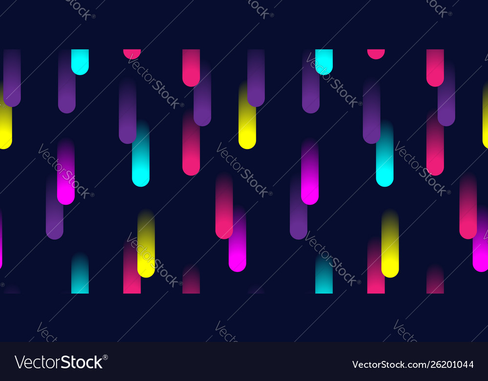 Colorful abstract geometric pattern with 3d