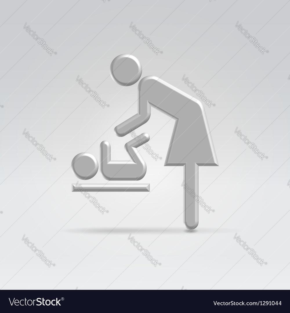 Maternity nursing icon