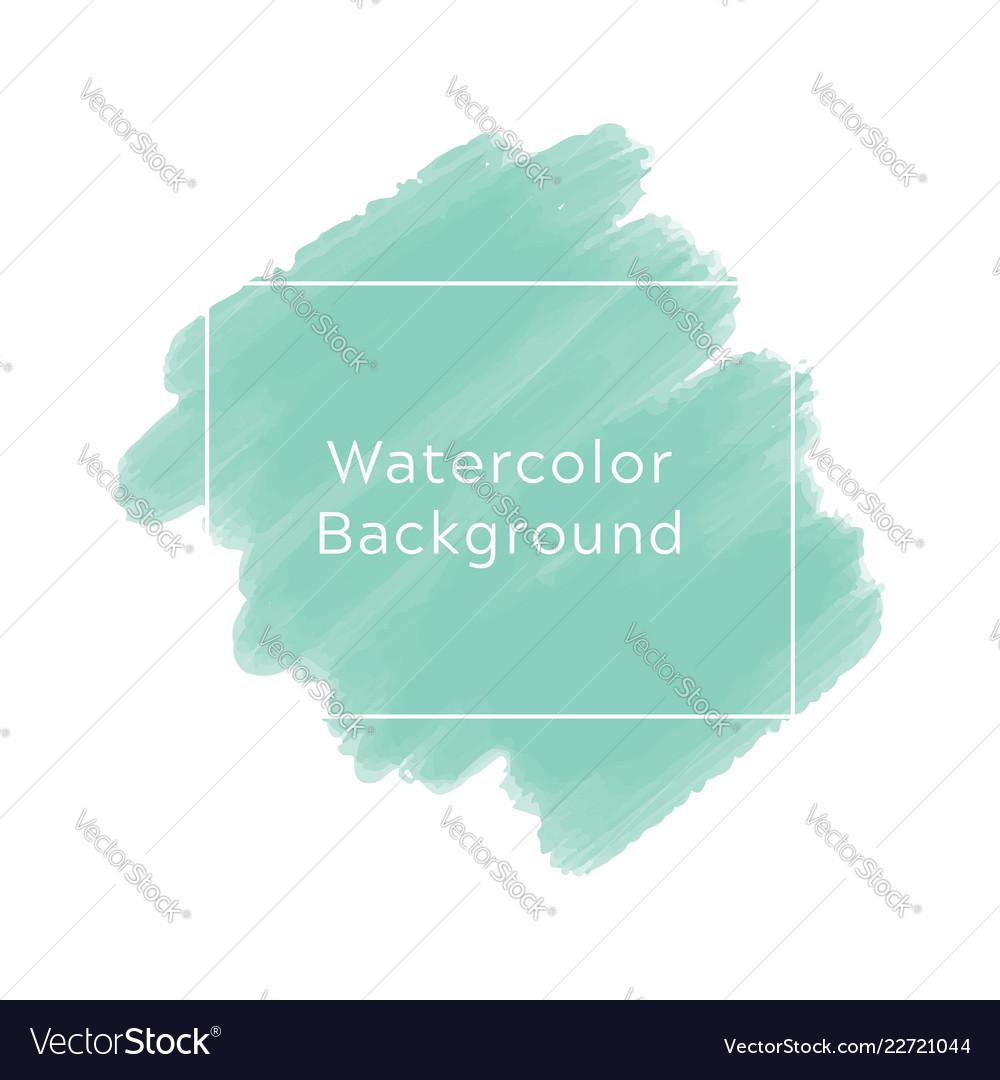 Mint blue watercolor background
