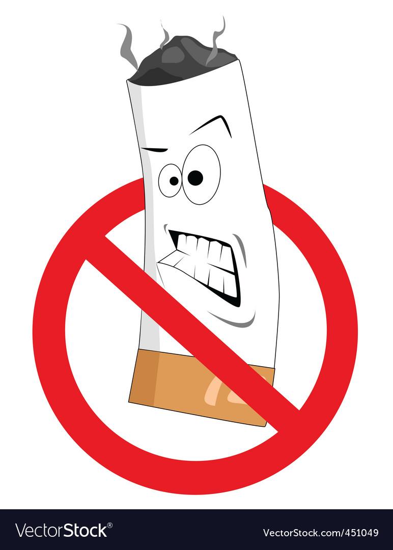 2008186 cartoon no smoking sign