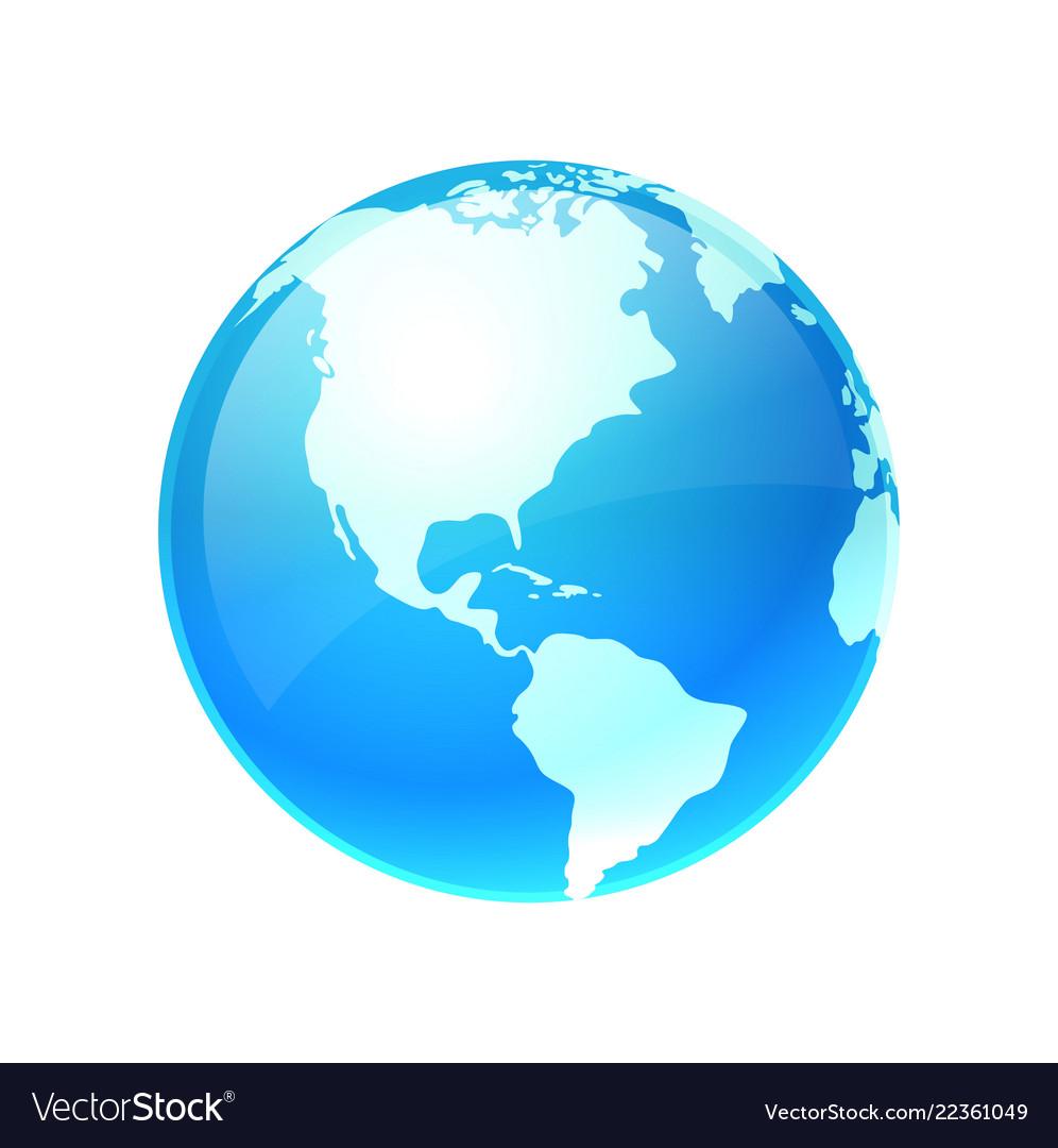 Logo earth planet