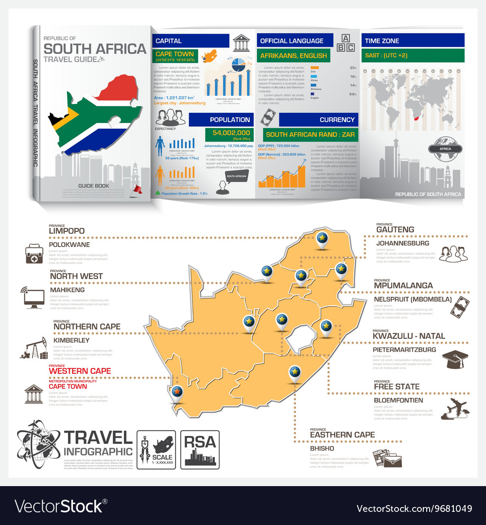 Republic Of South Africa Travel Guide Book