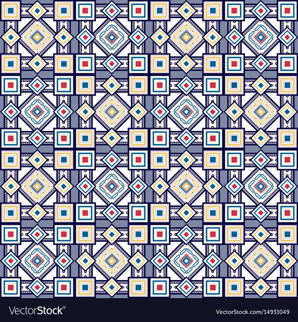 Seamless vintage color pattern