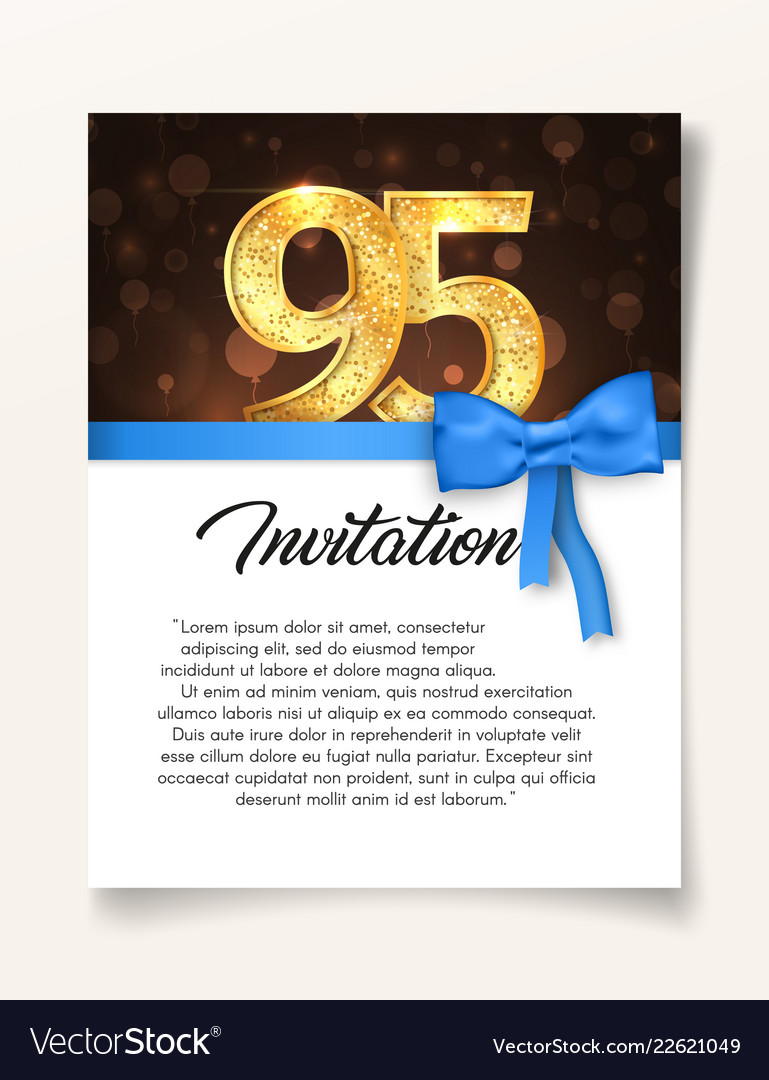 Wedding invitation card template to day