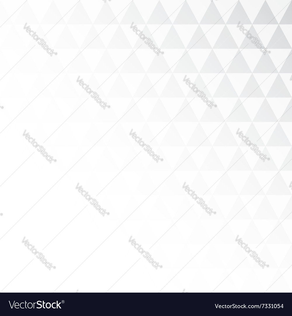 Background from gradient triangles vector image