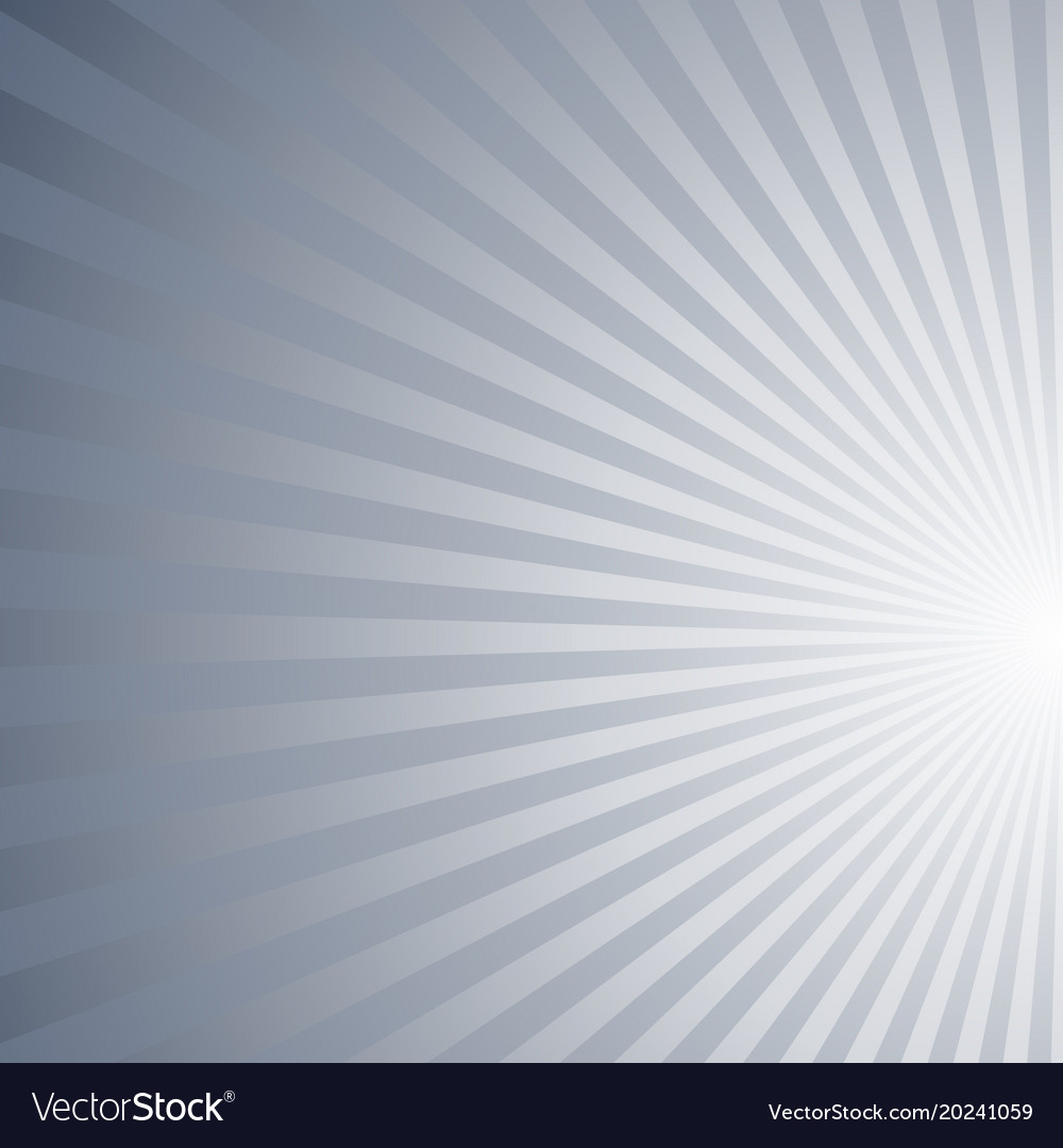 Asymmetrical abstract gradient sun rays pattern
