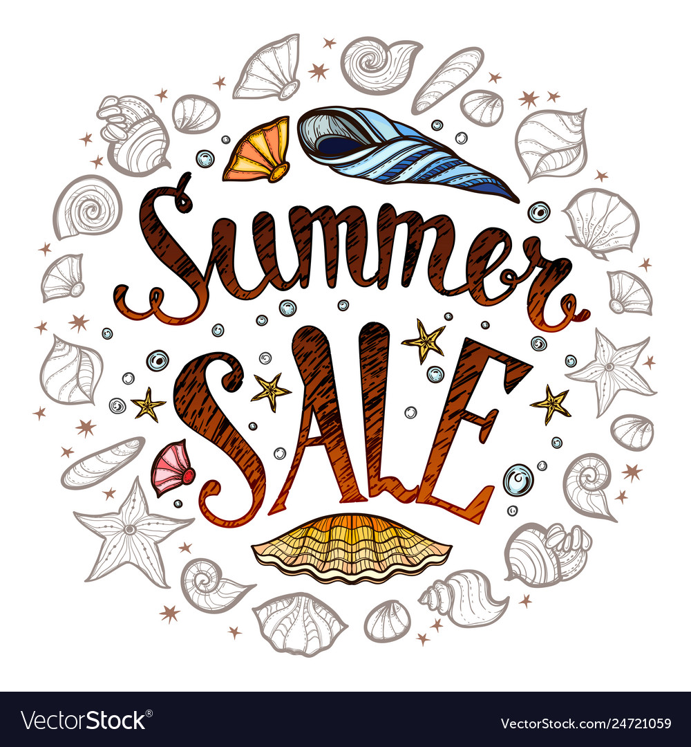 Sale banner for promotion summer poster