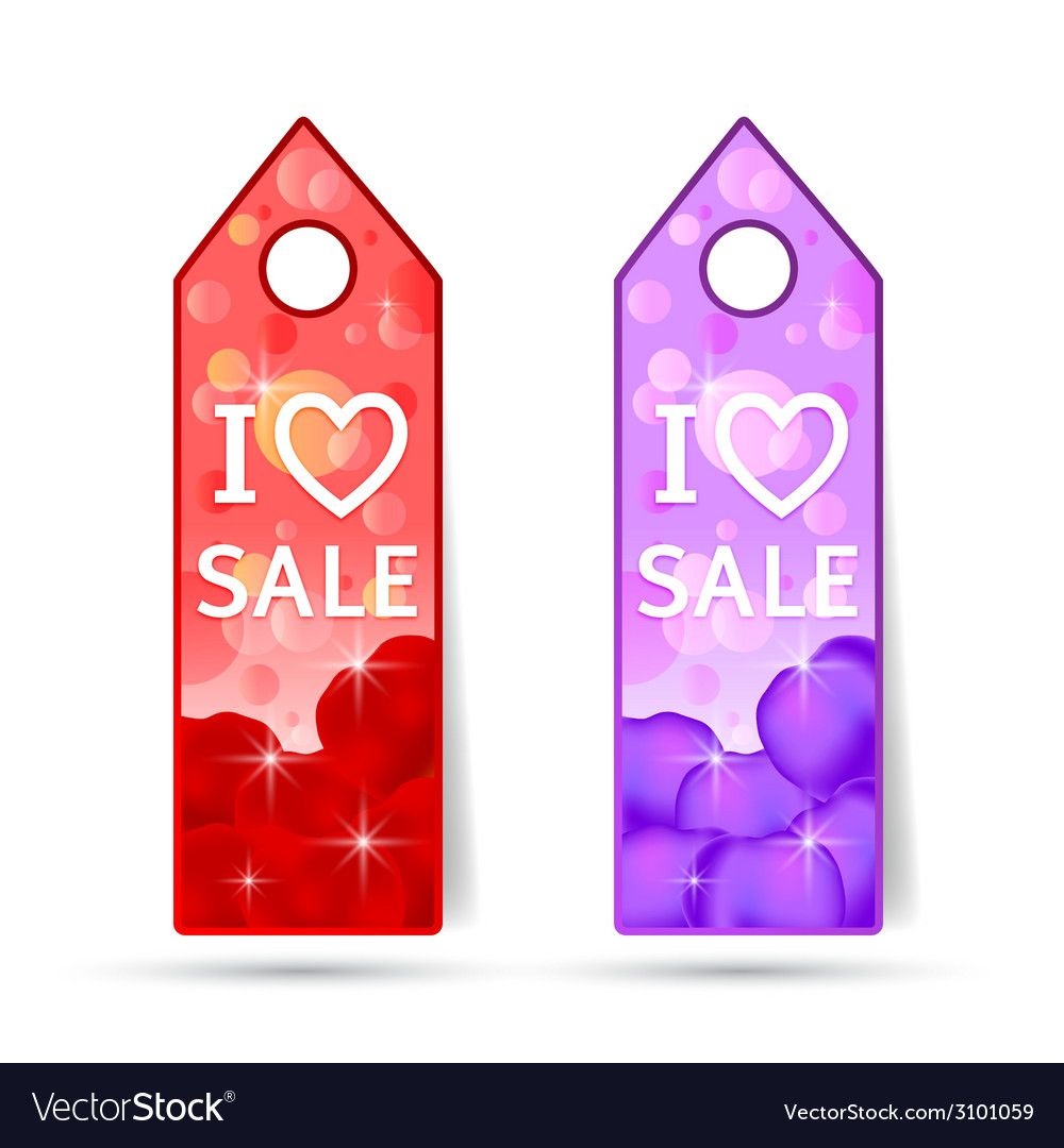 Stickers with i love sale made of rosses petals