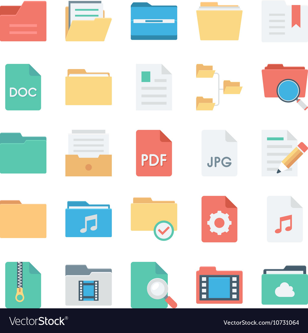 Files and Folders Icons 2
