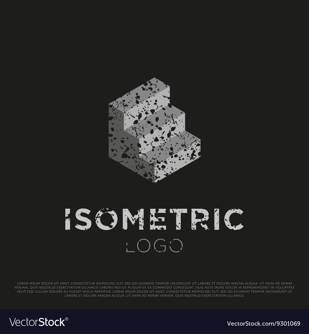 3d Isometric Logo