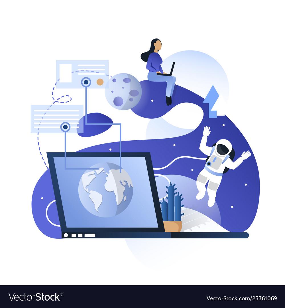 Blue space communication technologies