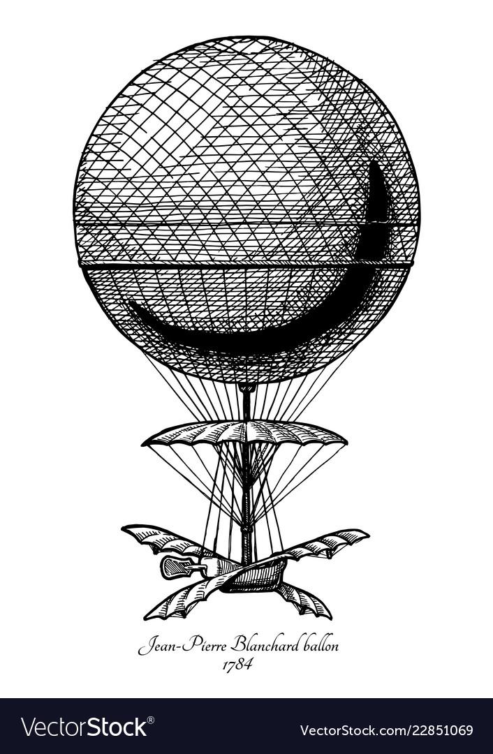Jean-pierre blanchard balloon