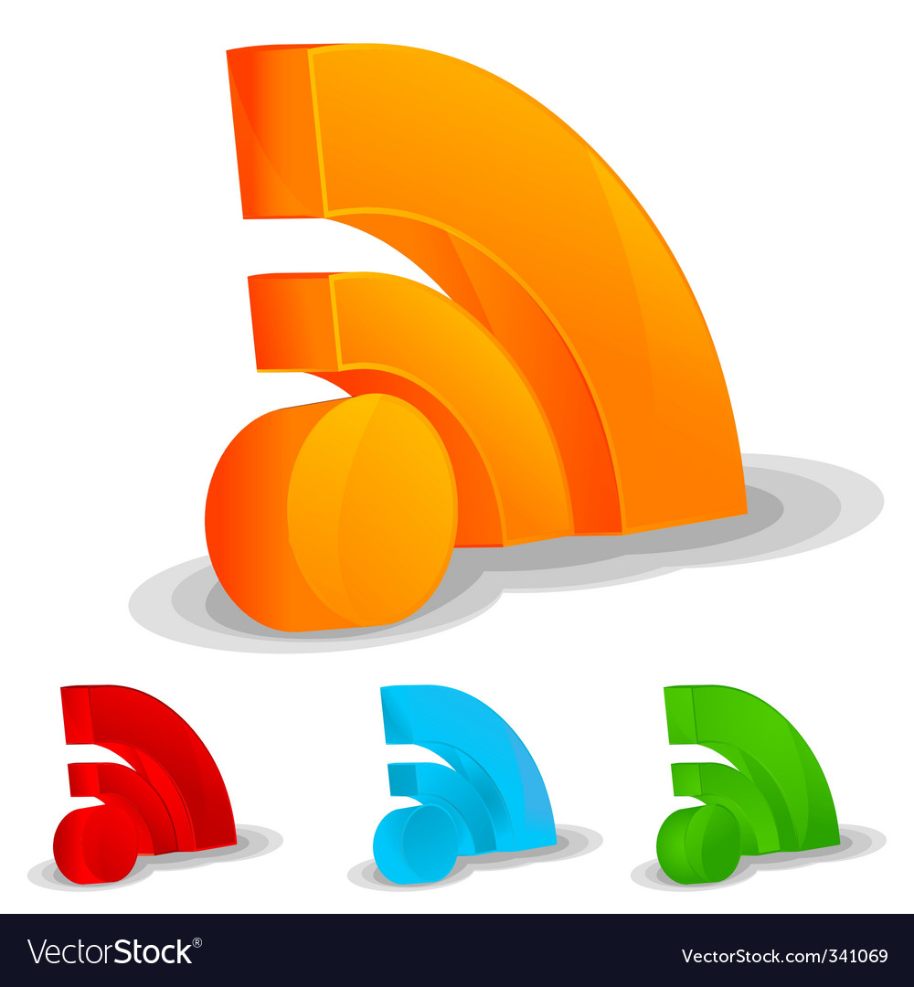 RSS feed icon set