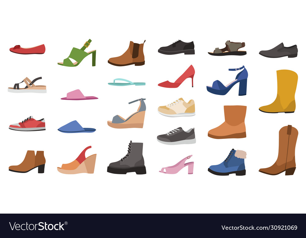Shoes mens womens and children footwear