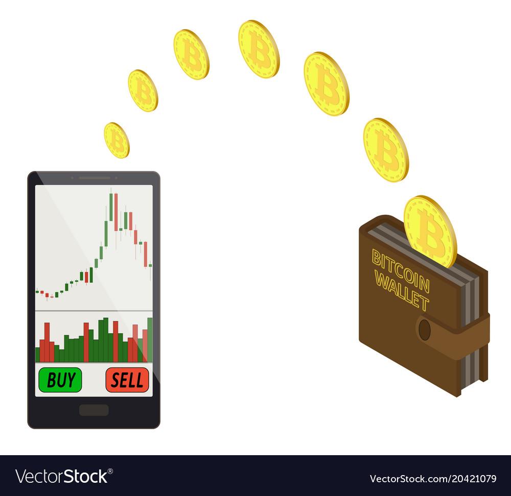 transferă bitcoins