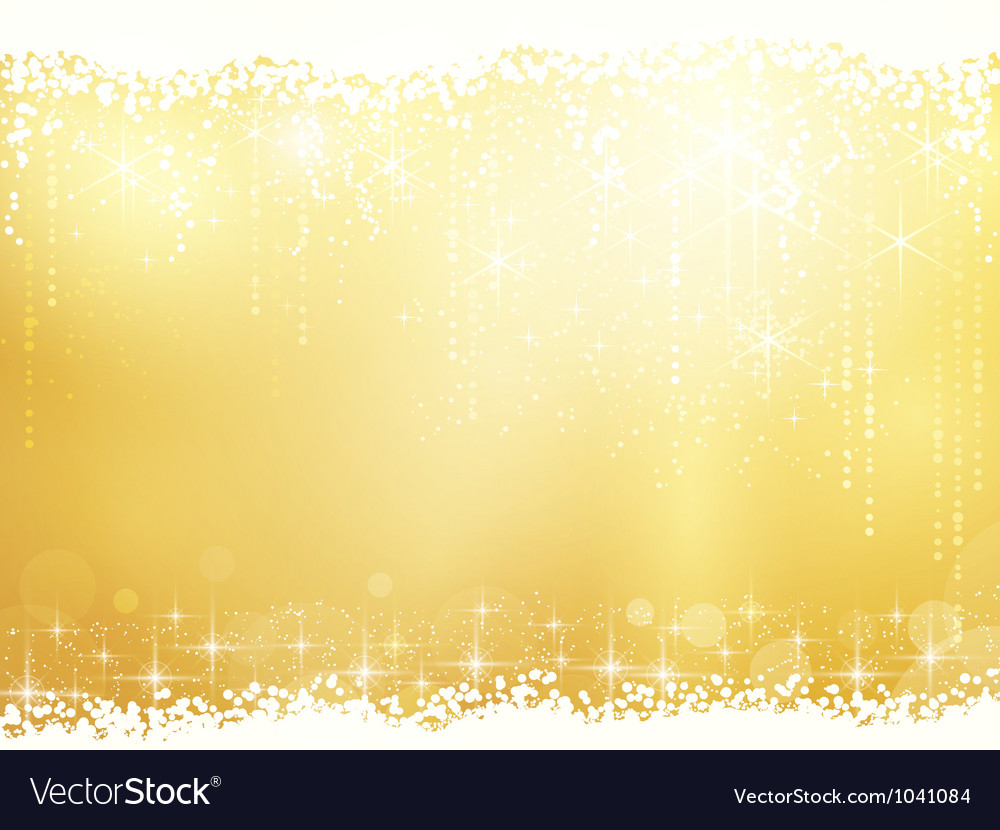 Abstract background with stars snowfall and light