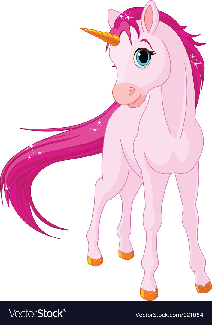 Baby Unicorn Vector Image
