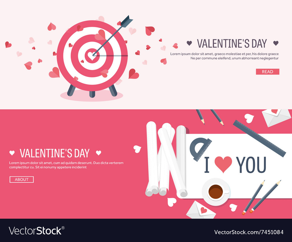 Flat background with target