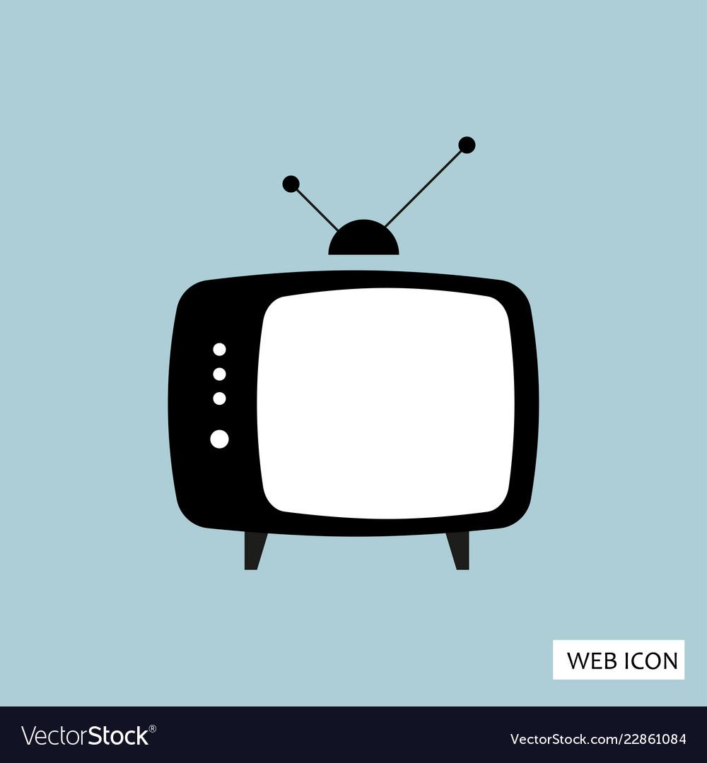 Tv icon tv icon eps10 tv icon tv icon eps tv