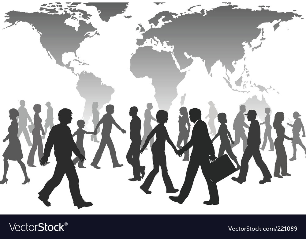 Population silhouettes