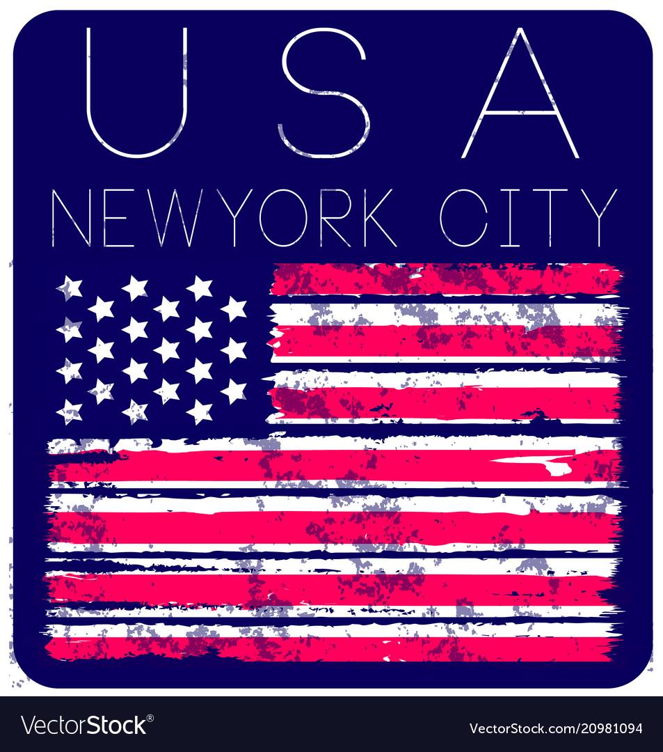 American grunge flag an american grunge flag for