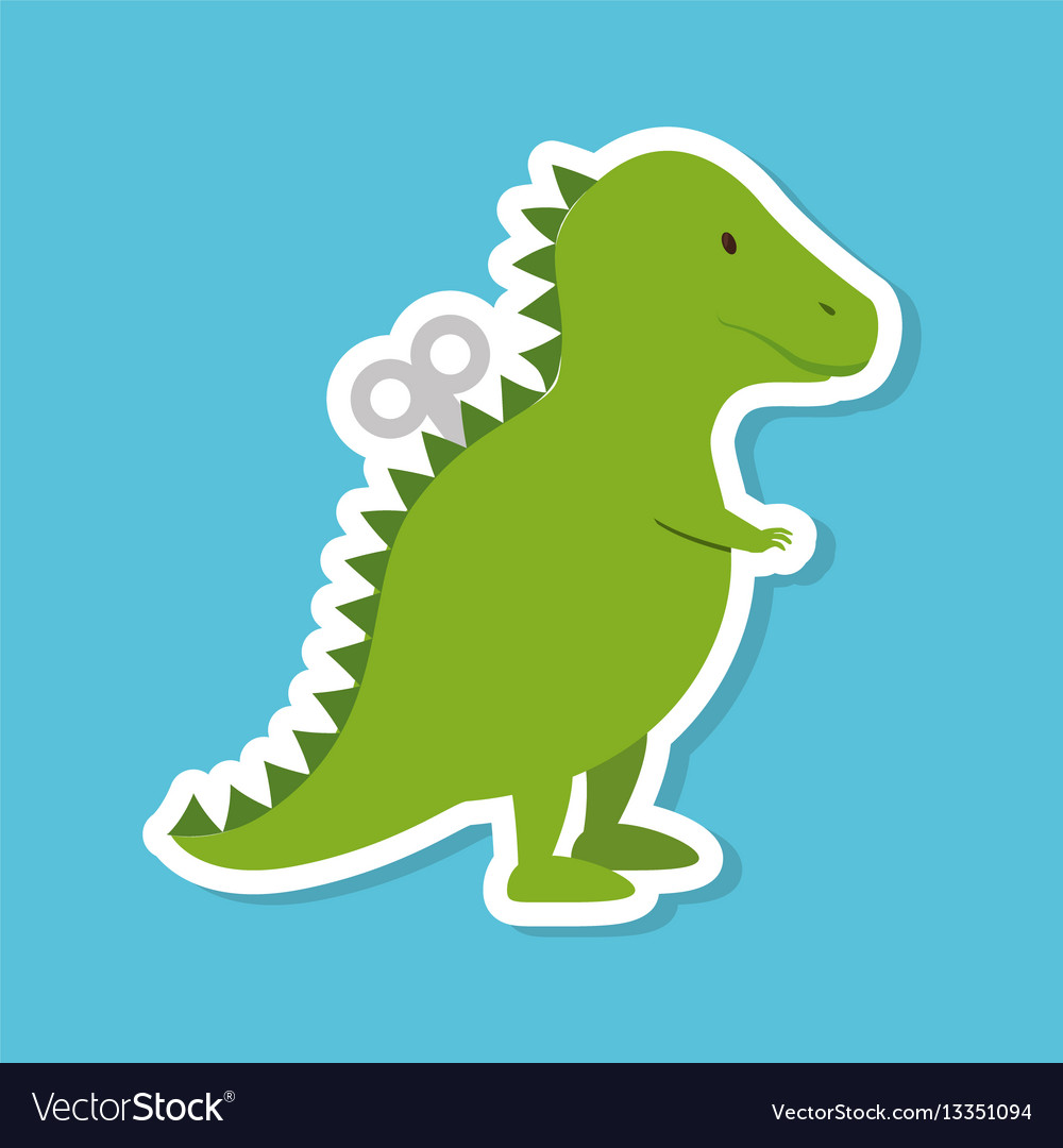 Dinosaur rex toy icon