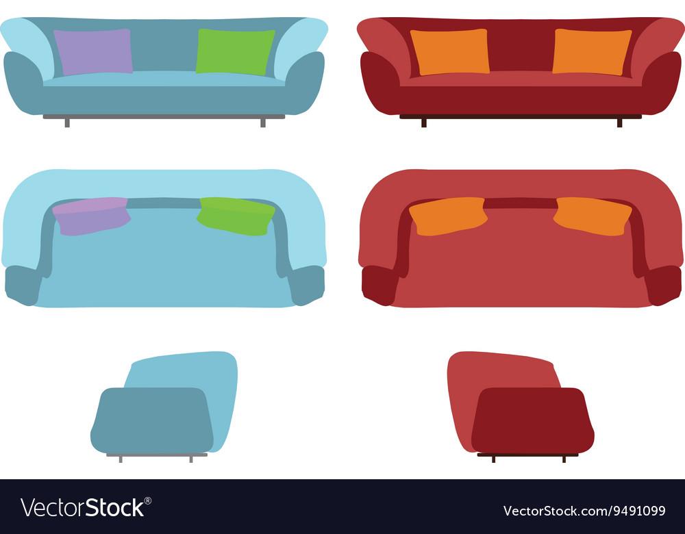 Big Sofas Set Furniture for Your Interior Design