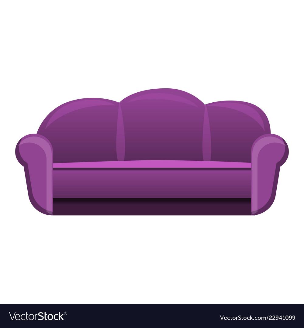 House Sofa Icon Cartoon Style Royalty Free Vector Image