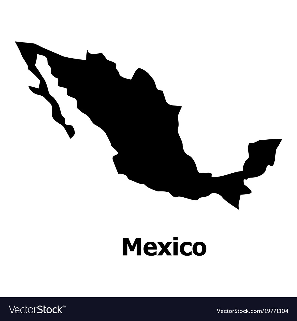 Free Clipart Map Of Mexico