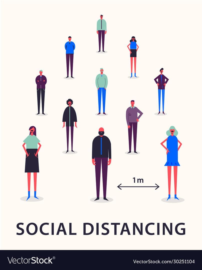Social distancing bluetooth mesh sensors