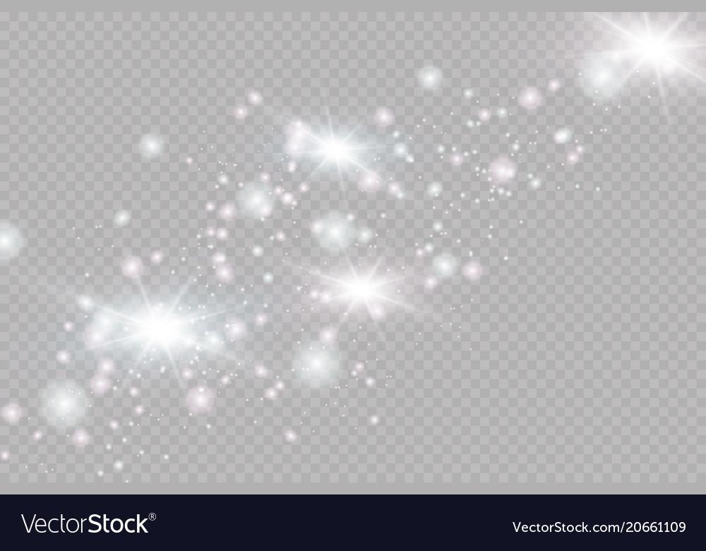 Glow light effect christmas