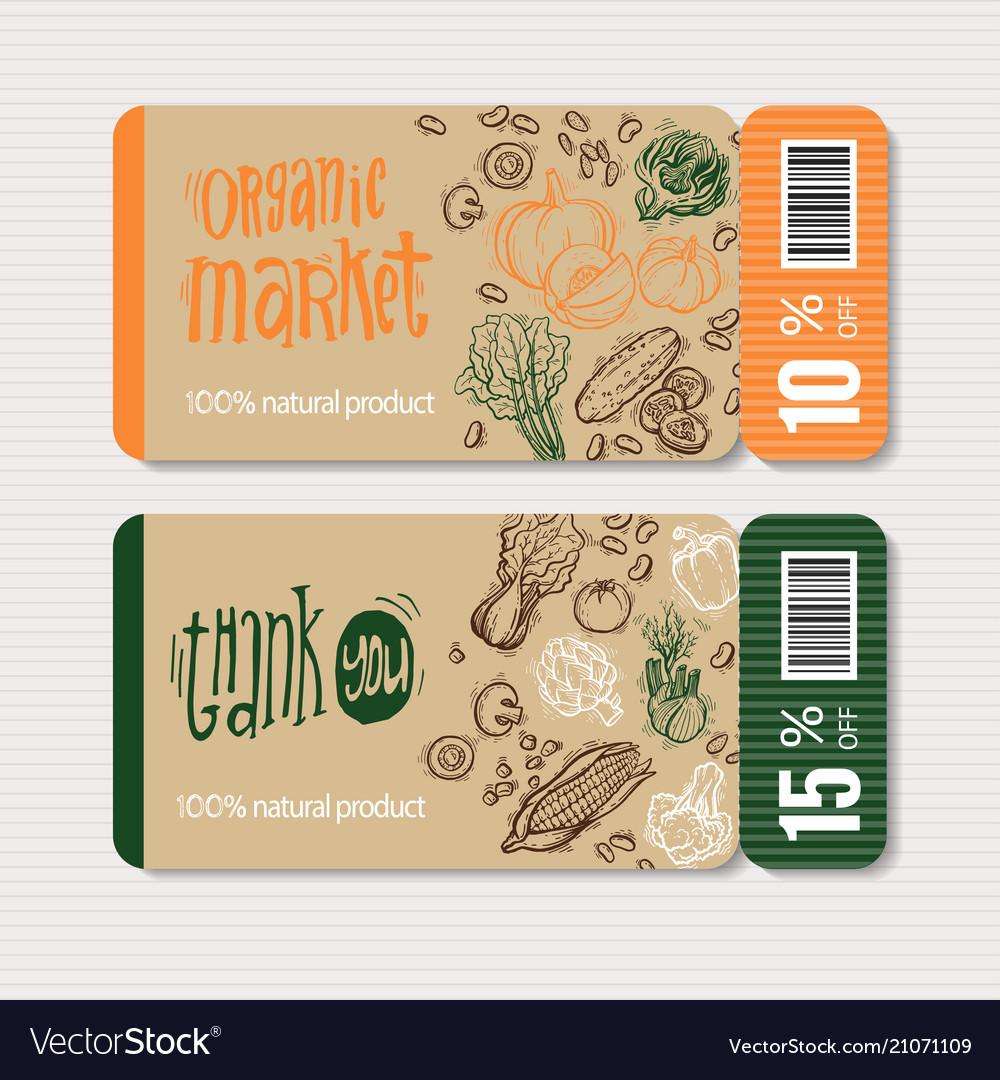 Organic market kit coupon
