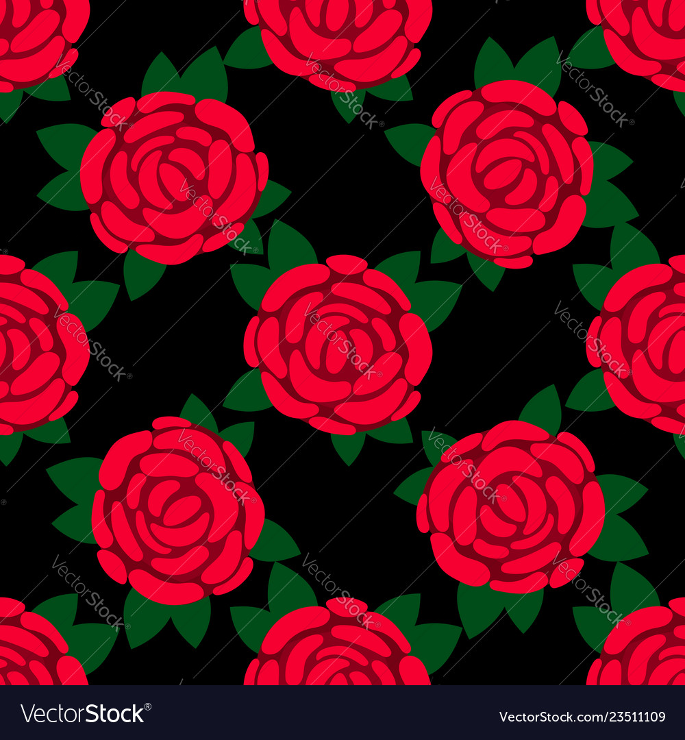 Rose flowers petals and leaves white background