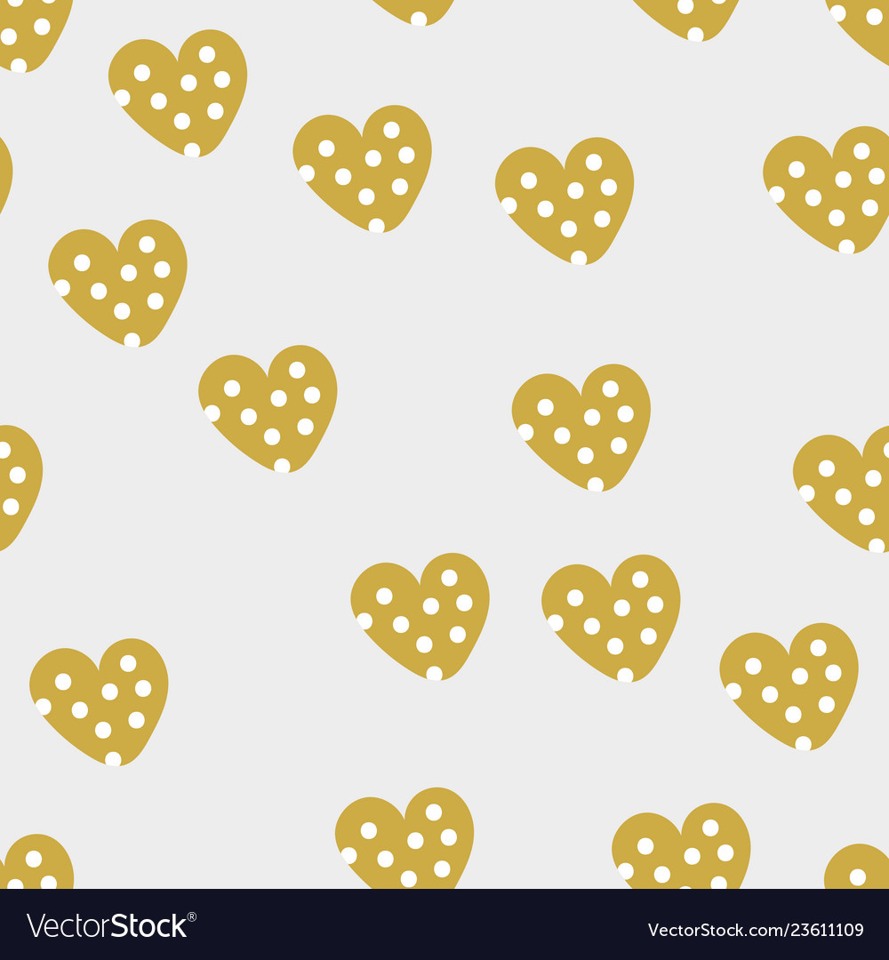 Seamless pattern with valentine s day elements