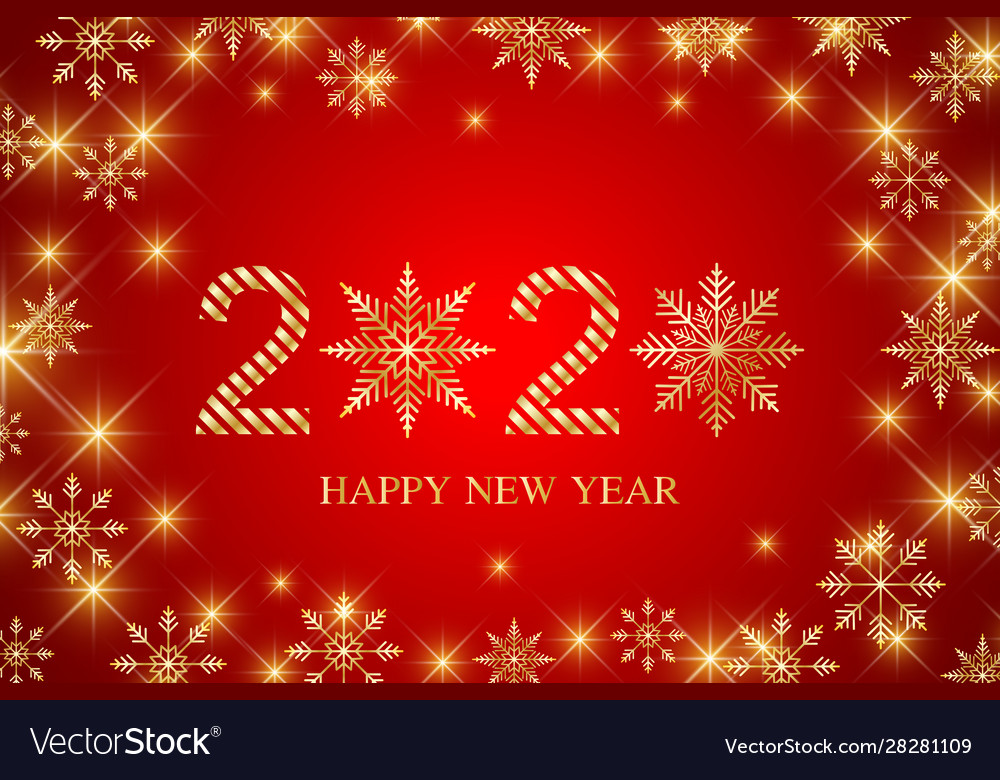 Text design 2020 christmas and happy new years