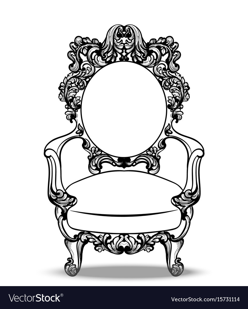 Imperial baroque chairs collection with luxurious