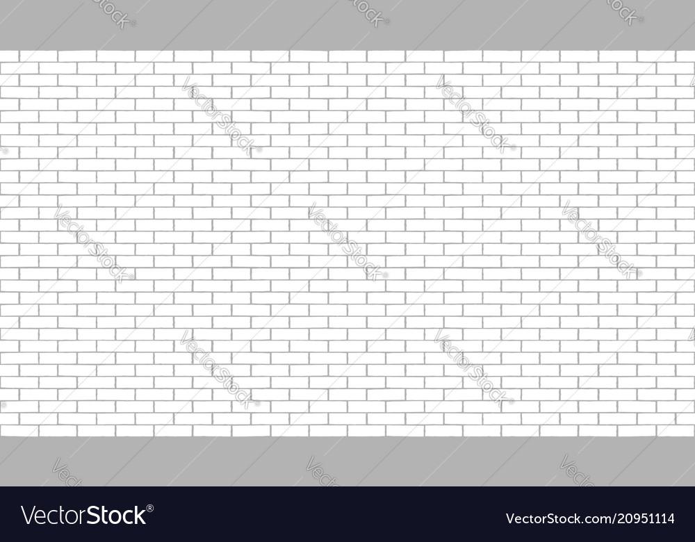 White brick wall seamless background