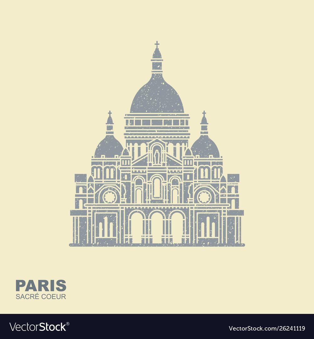 Basilica sacre coeur paris france monument