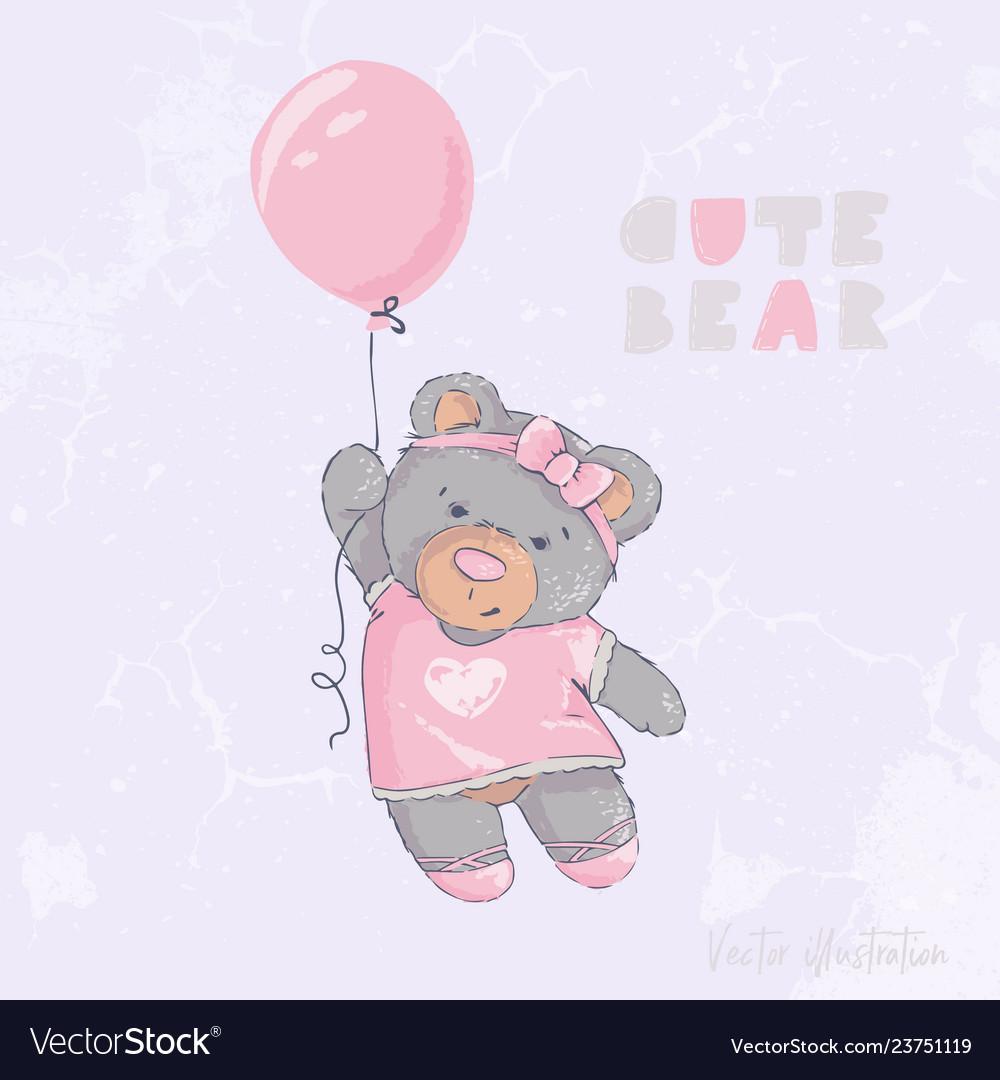 Cute and sweet bear