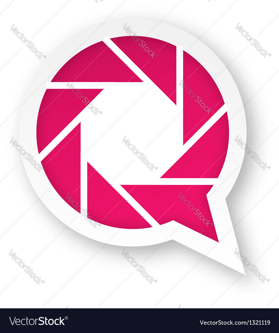 Pink photography logo