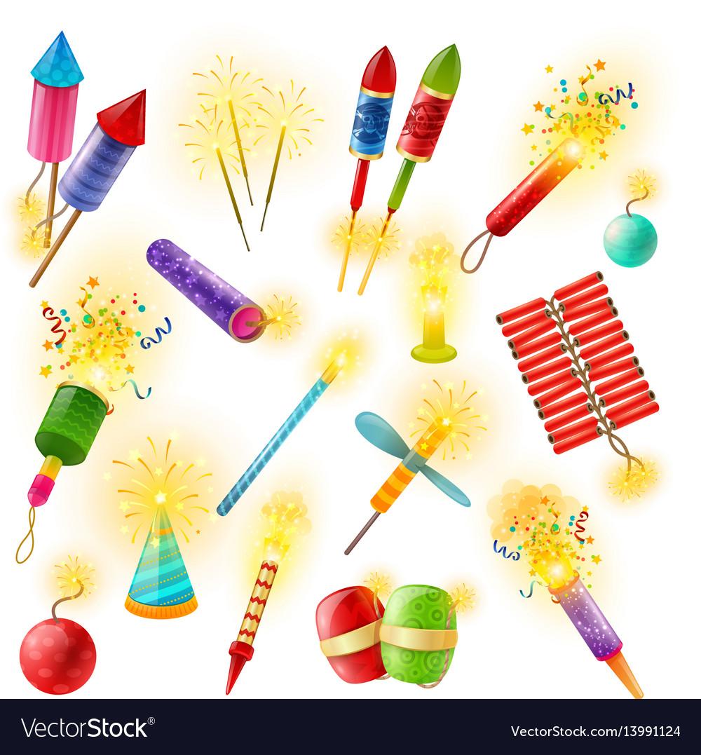 Pyrotechnics firework cracker sparkler colorful
