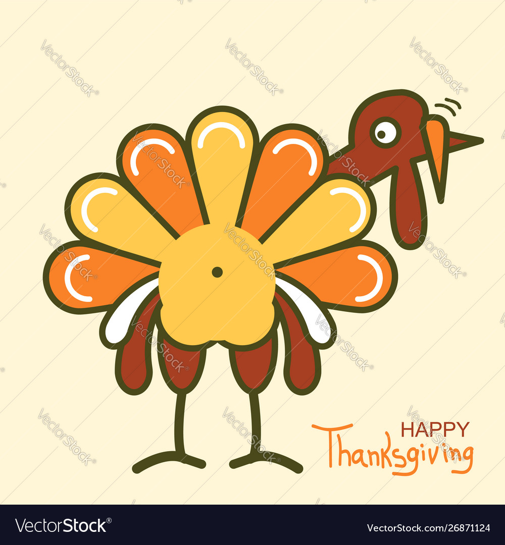 Thanksgiving turkey for happy thanksgiving day