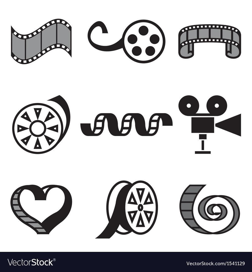 Logo icons movie