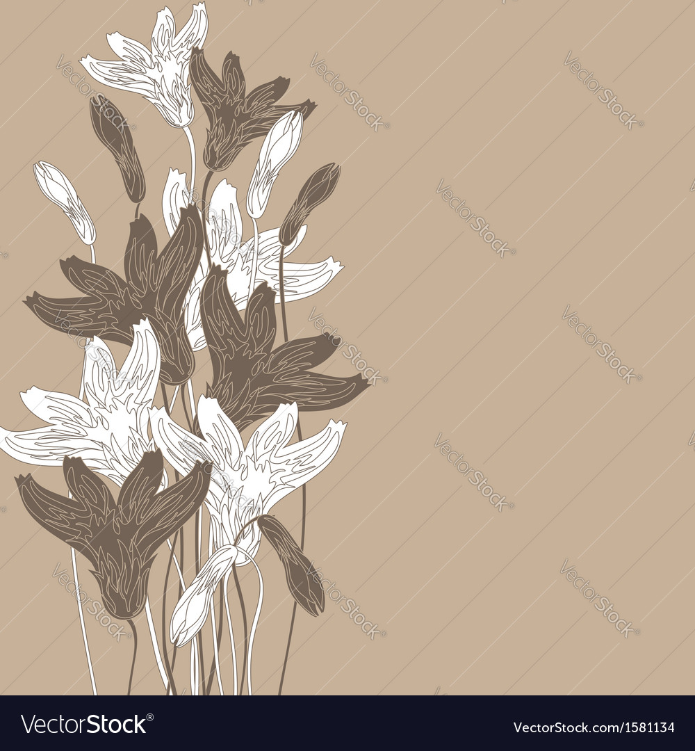Cornflowers background nude