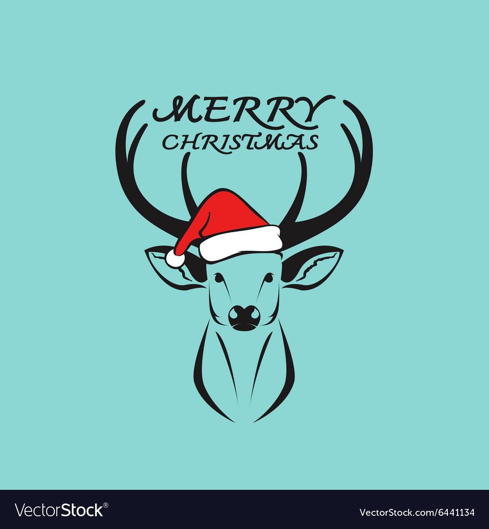 Deer merry christmas