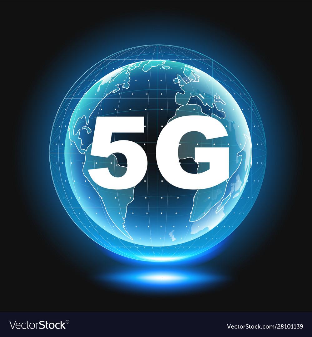 5g icon 5th generation wireless internet