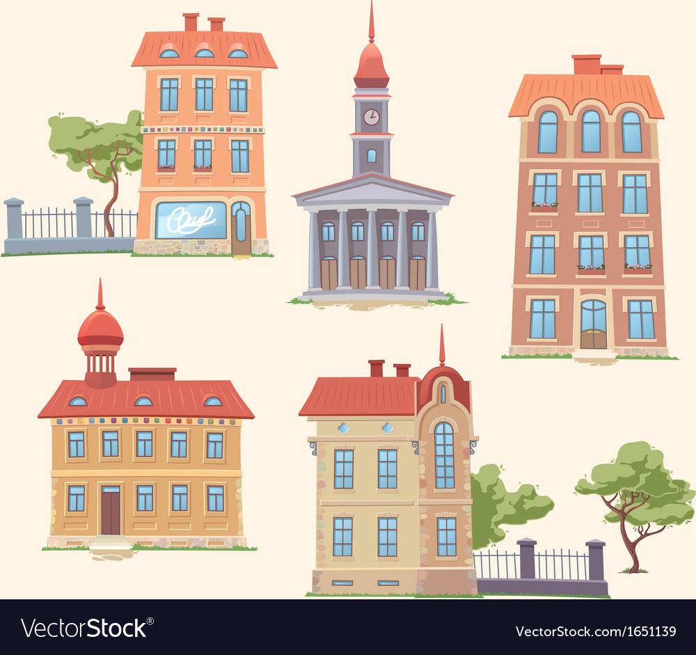 Classic Buildings Set